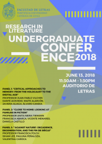 Research in Literature Undergraduate Conference 2018